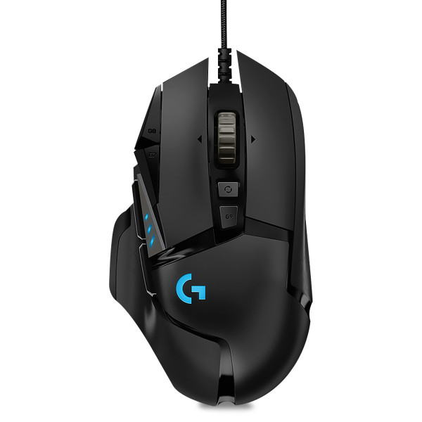 Mouse Optico Logitech G502 Hero Gaming U...