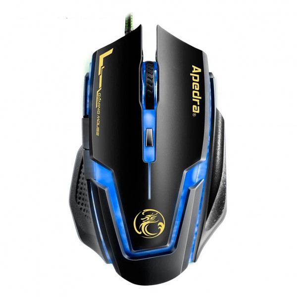 Gamer Mouse Luminoso iMice A9