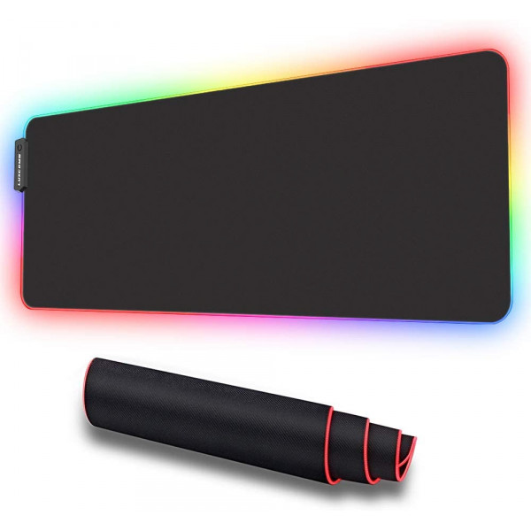 Mousepad gaming con led / 800x300x4mm / ...