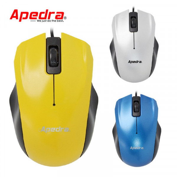 Mouse Optico Apedra USB
