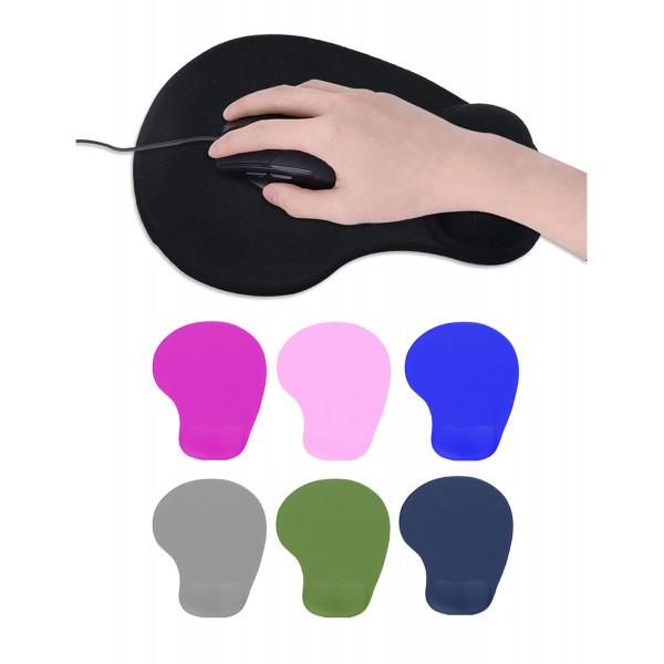Mouse pad con soporte de gel touch me