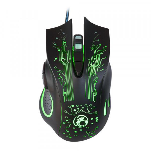 Gamer Mouse Luminoso iMice X9