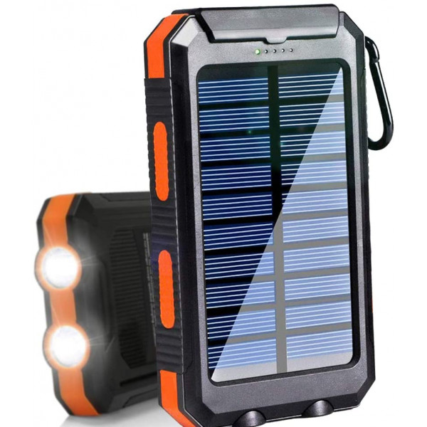 Bateria Cargador Power Bank Solar 20000M...