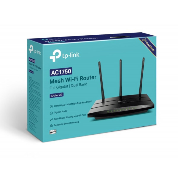 Router Inalambrico TP-Link Archer A7 AC1...