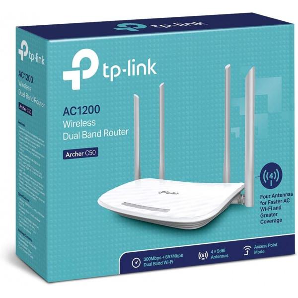 Router Inalambrico TP-Link Archer C50 AC...