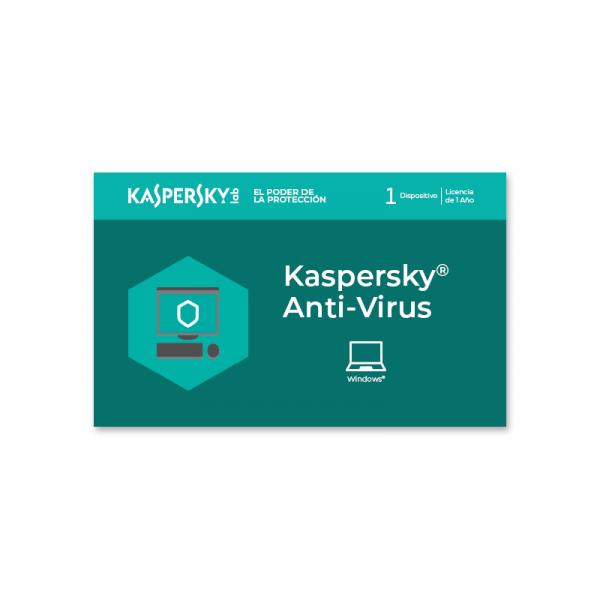 Antivirus Kaspersky Codigo 1 PC