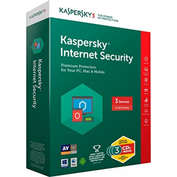 Kaspersky Internet Security 3 PC