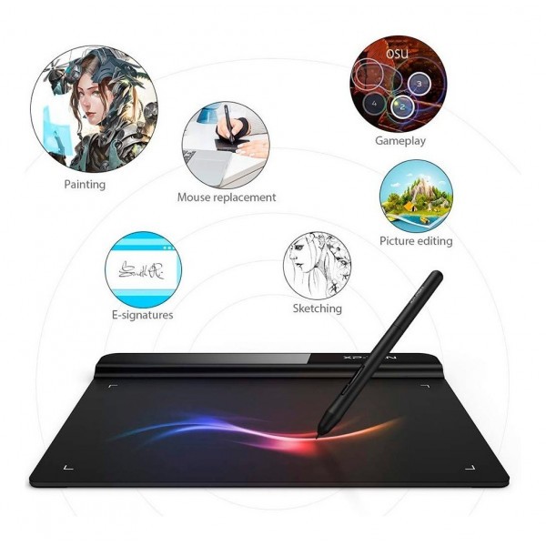 Tableta gráfica Star G640 / dimension: 6 x 4 in / lapiz optico sin bateria