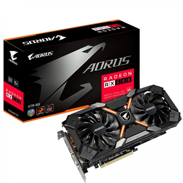 Tarjeta de Video Aorus Radeon RX 580 8GB...