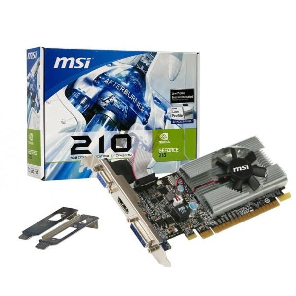 Video MSI G210 1GB DDR3  PCI-Ex