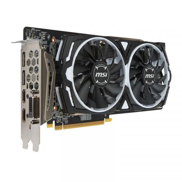 Tarjeta de Video MSI Radeon RX 580 Armor 8GB DDR5 256bit/2xDP, 2xHDMI, 1xDVI-D/ VR Ready/ Freesync 2