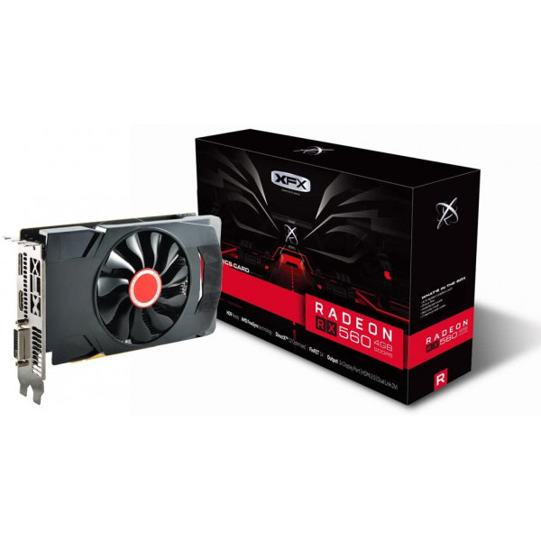 Video XFX Radeon RX 560 4GB DDR5 1xDP/ 1...
