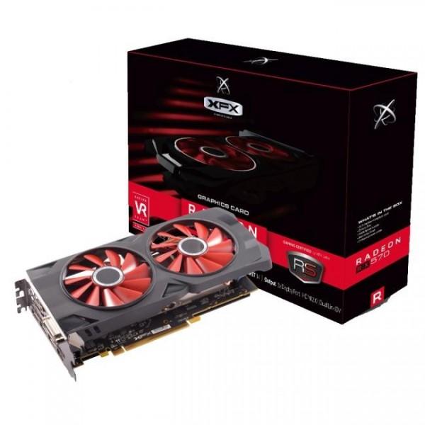Tarjeta de Video XFX Radeon RX 570 8GB D...