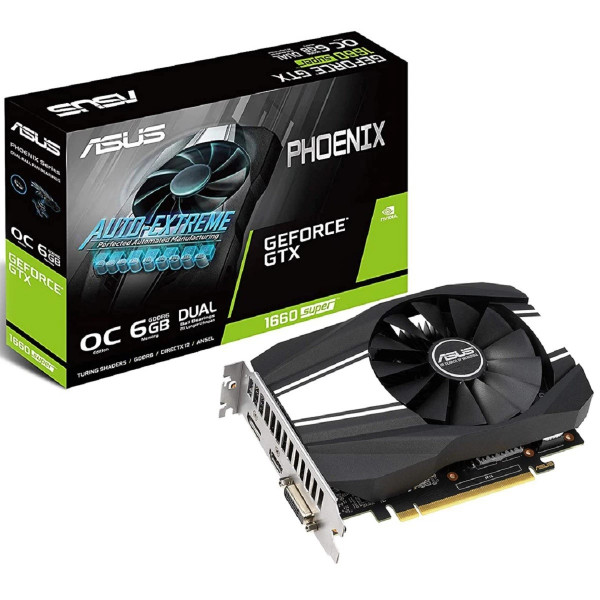 Video Asus Phoenix GTX1660 SUPER OC 6GB ...