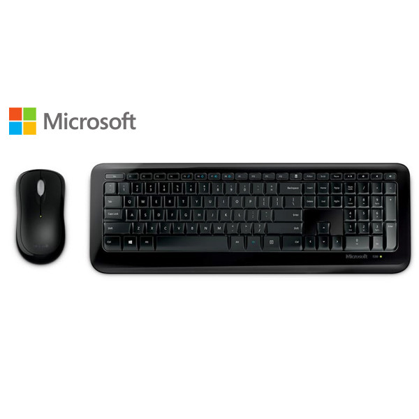 Combo de Teclado y Mouse Microsoft Wireless 850 USB