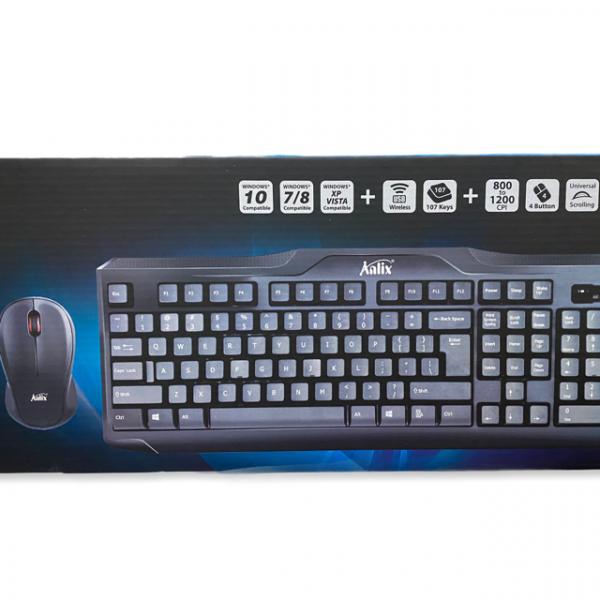 Combo de teclado y mouse inalambrico Anl...