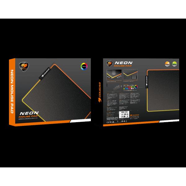 Mousepad Gaming Cougar neon 350x300x4mm