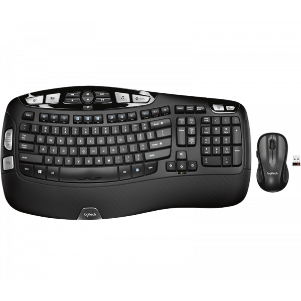 Combo de teclado y mouse Logitech Confor...