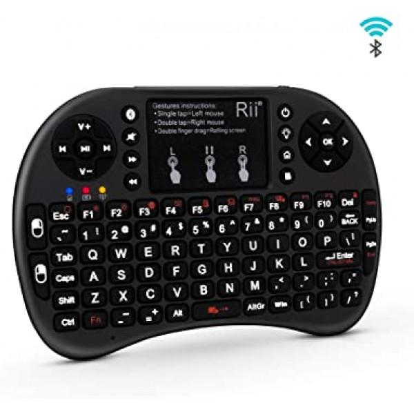 Mini Keyboard Mouse bluetooth backlit