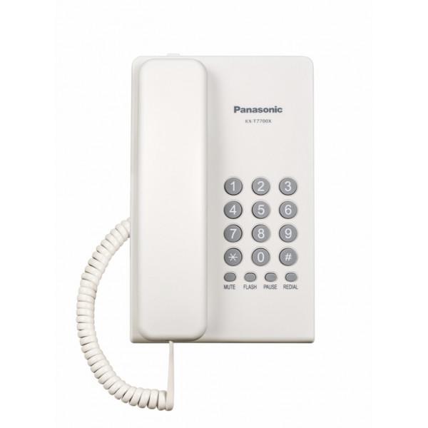 Telefono alámbrico Panasonic KX-T7700X