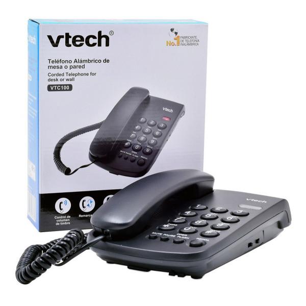 Telefono alámbrico de mesa o pared / Vt...