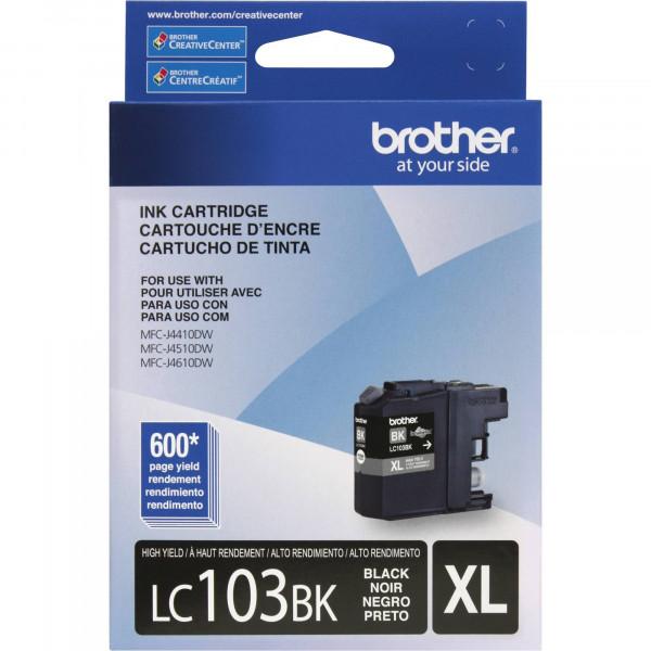 Cartucho de Tinta Brother LC-103BK Black...