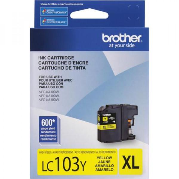 Cartucho de Tinta Brother LC-103Y Yellow...