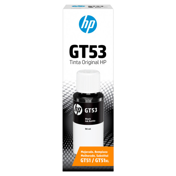 Botella de Tinta HP GT53 Negro 90ml