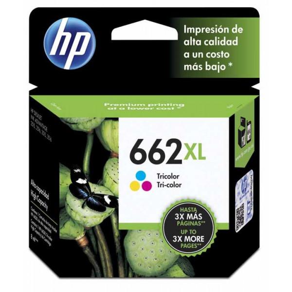 Cartucho de Tinta Hp 662XL Color 360 pag
