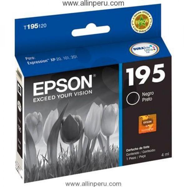 Cartucho de Tinta Epson T195120 Black