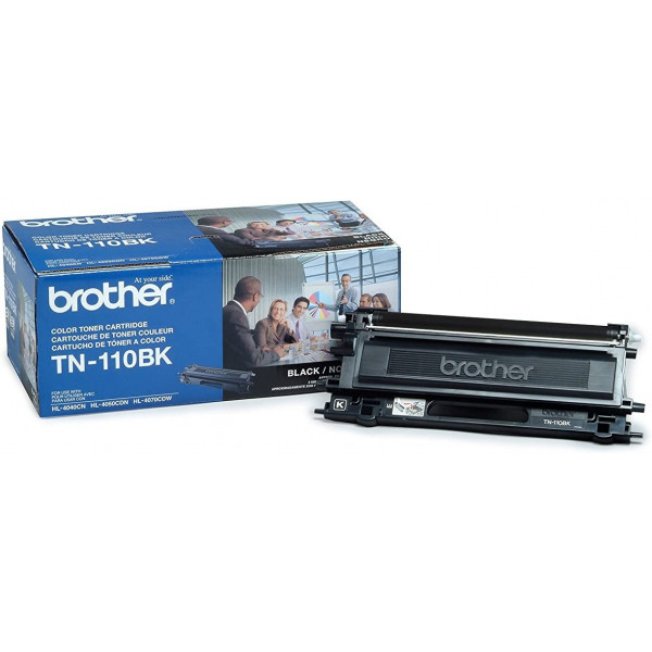 Toner Brother TN-110BK Negro 2500 pagina...