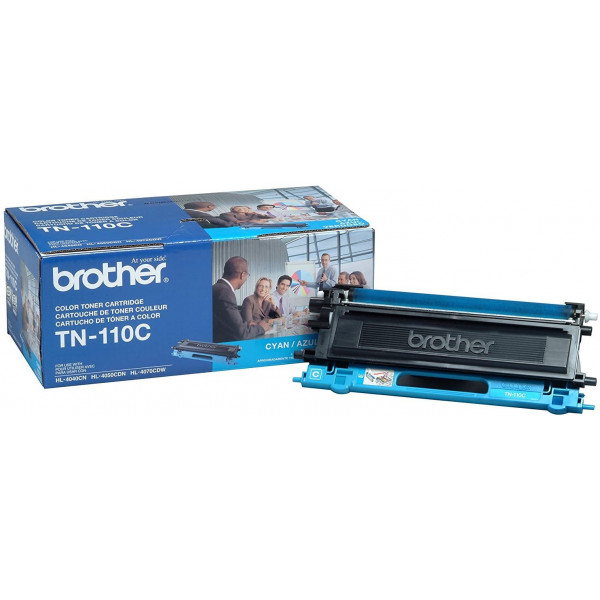 Toner Brother TN-110C Cyan 1500 paginas ...