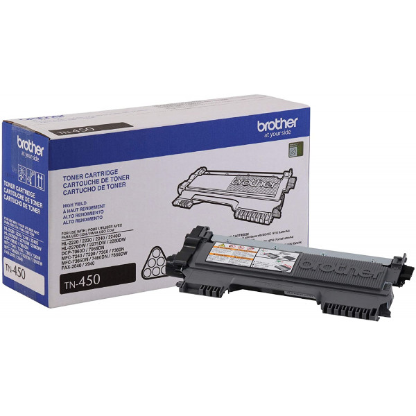 Toner Brother TN-450 para 2600 paginas