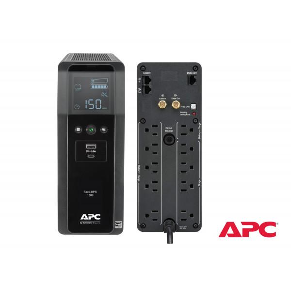 UPS APC BR1500M2-LM  1500VA + Regulador