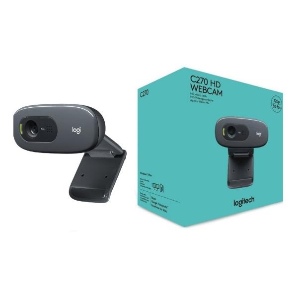 Webcam Logitech C270 HD 720p 30 fps