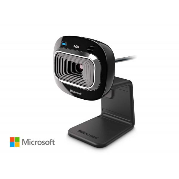 Webcam Microsoft LifeCam T4H-00002 / 720HD / Microfono incorporado