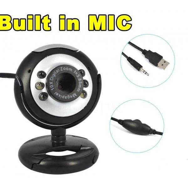 Webcam Jupiter 480p Resolucion 640x480