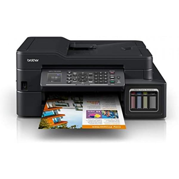 Multifuncional Brother MFC-T910DW 5 en 1/ Sistema Continuo/ Impresora/ Escaner/ Copiadora/ Fax/ PC Fax/ ADF