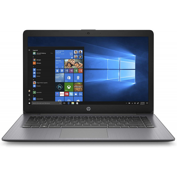 Notebook HP 14-ds0060nr AMD A4-9120e 1.6Ghz/ 4GB DDR3/ Disco SSD 64GB/ Win10 Home/ LED 14/ WiFi