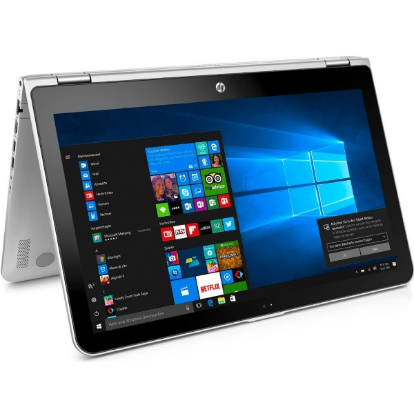 """Notebook HP Pavilion x360 14m-dw0023dx Intel Core i5-1035G1/ 3.6Ghz/ 8GB DDR4/ SSD 256GB/  Win10Home/ LED 14.0"""" Touch/Finger"""