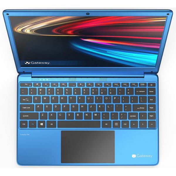 Laptop Gateway Intel Celeron N4020 1.1Ghz /  4GB RAM/ 64Gb Disco SSD/ Pantalla 14.1 in 1920x1080/ Webcam/ Micro SD/ Windows 10