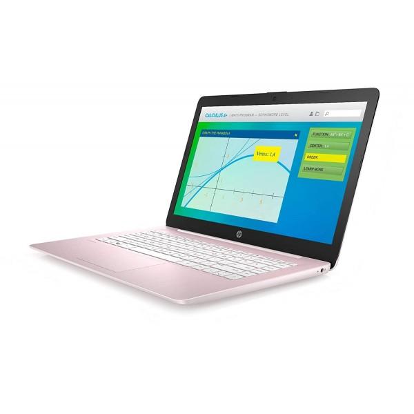 """Notebook HP 14-cb188nr Intel Celeron N4000 2.6Ghz/ 4GB DDR3/ Disco 64GB MMC/ Win 10/ LED 14.0""""/ WiFi"""