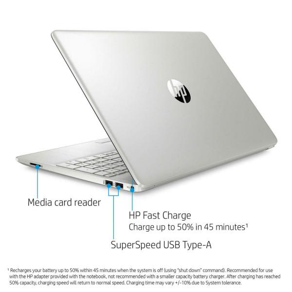 Notebook HP 15-dw2656cl Core i5-1035G1 3.6Ghz/ 8GB DDR4/ Disco SSD 256GB/ LED 15.6/ Card Reader/ Webcam/ Wifi/ Windows 10