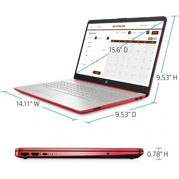 Notebook HP 15-dw0083wm Pentium Silver N5000 2.7Ghz/ 4GB DDR3/ Disco SSD 128GB/ LED 15.6/ Windows 10 Home
