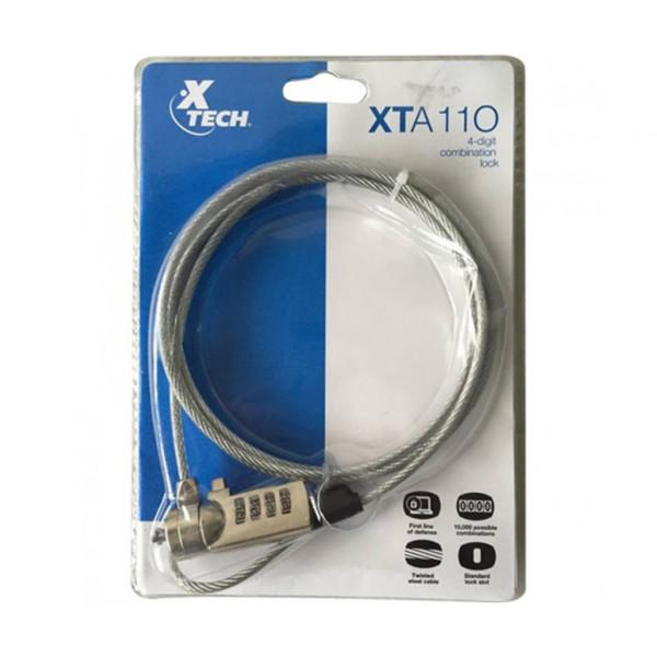 Xtech Notebook XTA110 4 digit combinatio...
