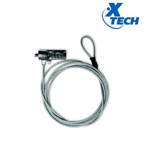 Xtech Notebook XTA110 4 digit combination lock