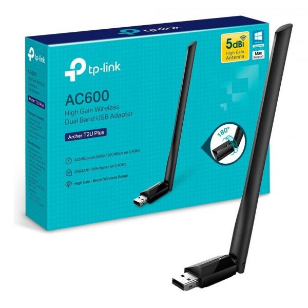 Adaptador TP-Link USB WiFi Archer T2U Pl...