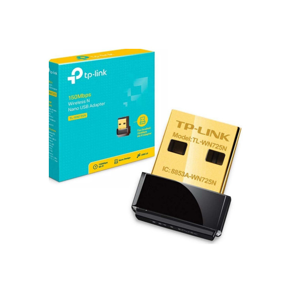Adaptador TP-Link Mini USB WiFi N 150Mbp...